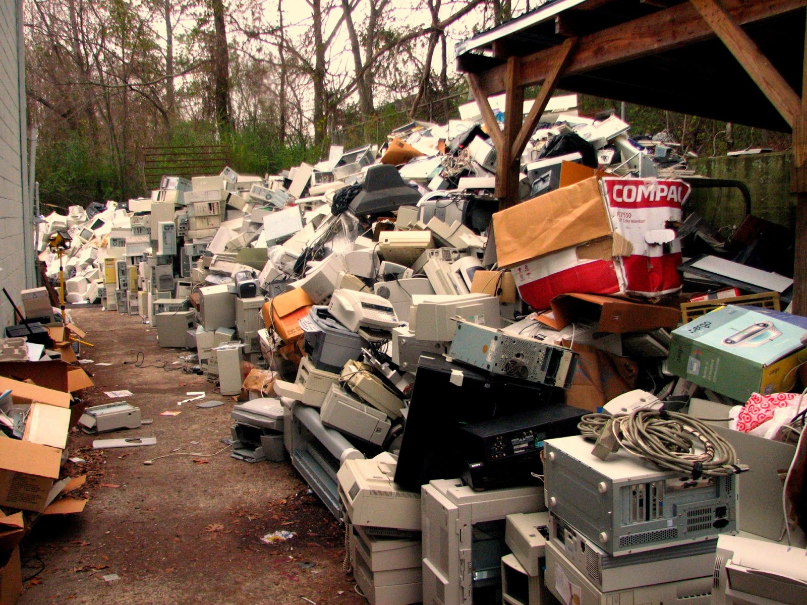 E-Waste, computer waste is a major environmental concern