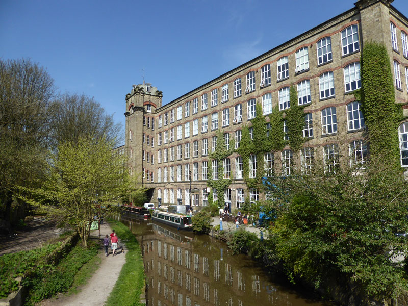 Clarence Mill, Bollington home of District Furniture