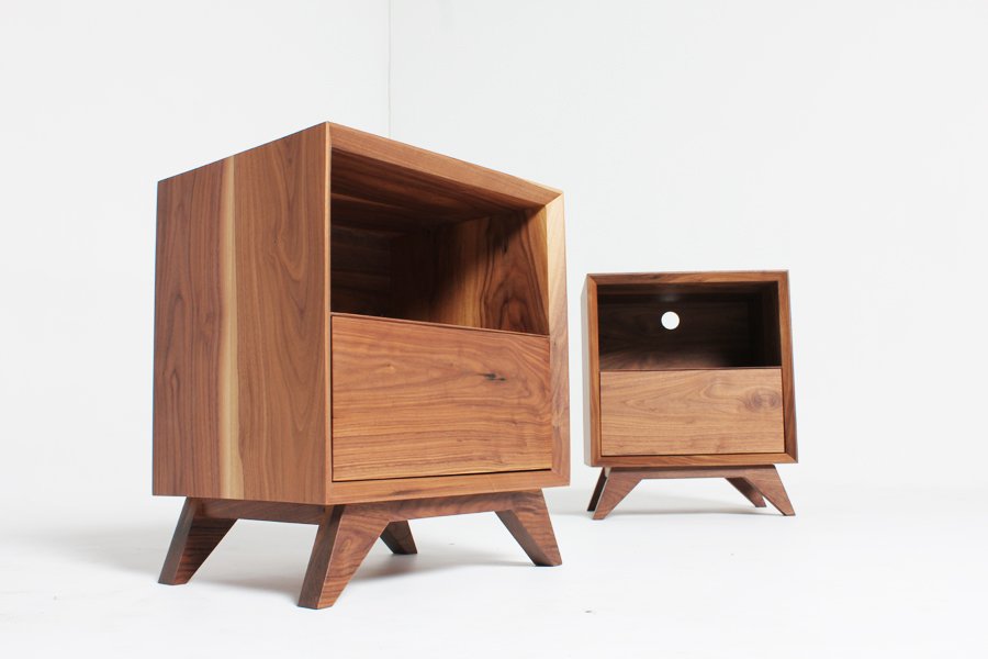 District Furniture bedside units handmade bespoke furniture