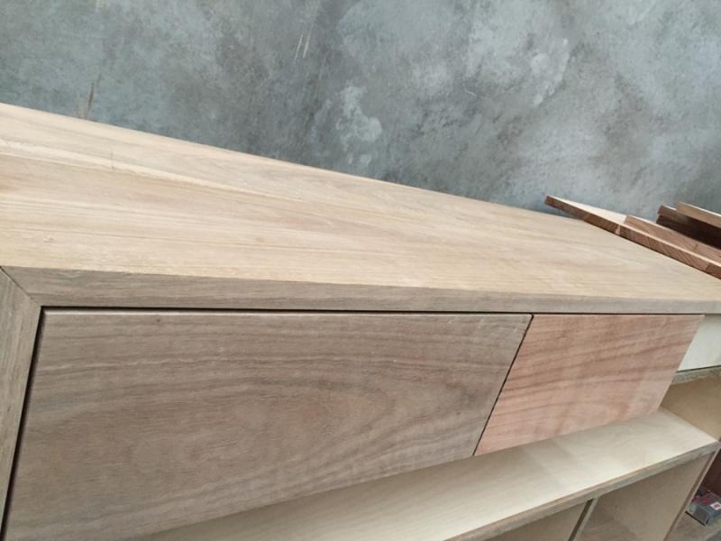 District Furniture hallway unit bespoke design and hand made furniture