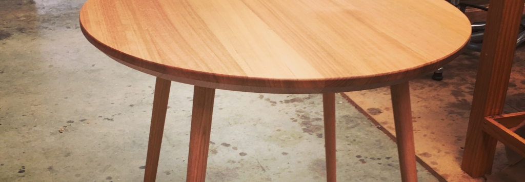 Beautiful Mid-Century dining table produced from Ash, hand made in Clarence Mill, Bollington, Cheshire