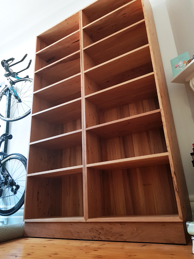 District Furniture solid timber bookcase hand made custom furniture