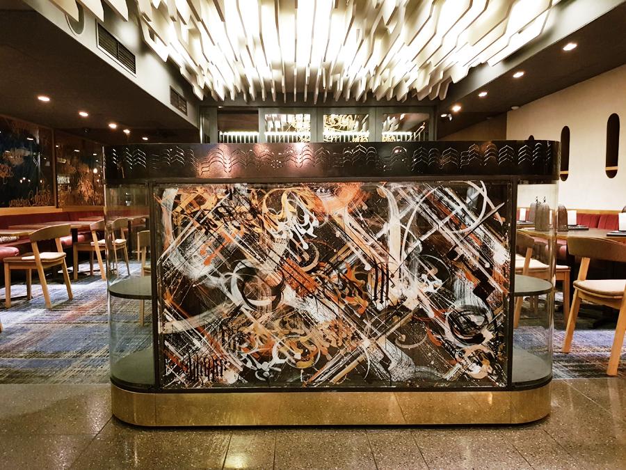 District Furniture waiter station hand made bespoke restaurant furniture